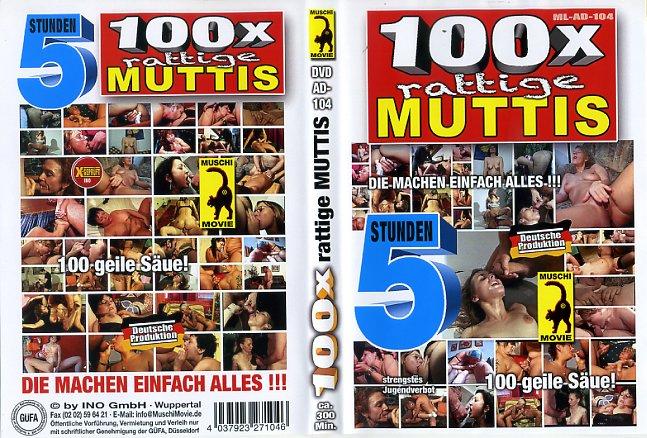 100 X Rattige Muttis Muschi Movies
