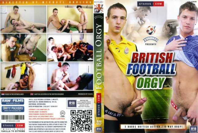 football gay orgy