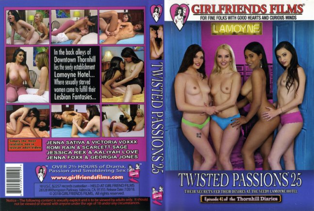 Twisted Passions 25 Girlfriends Films