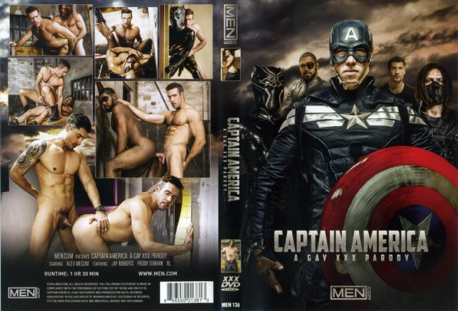 Captain America: A Gay XXX Parody Men.Com