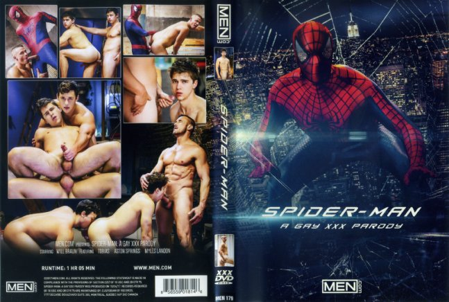 Spiderman: A Gay XXX Parody Men.Com