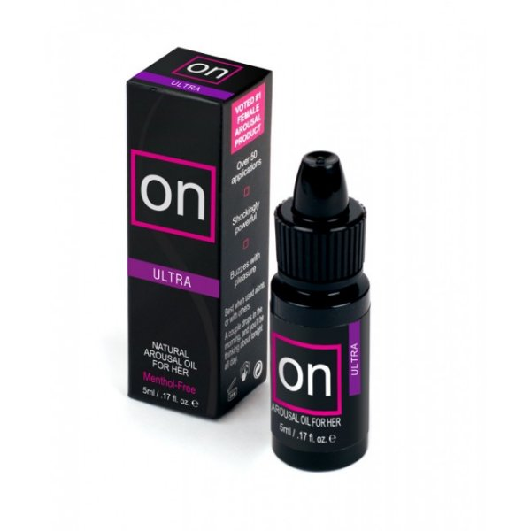 ON Ultra Arousal Oil For Her 5ml Bottle ON Natural