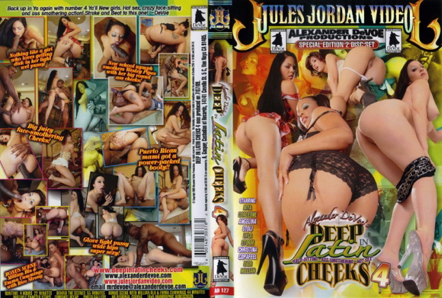 deep cheeks porn latin dvd - Deep In Latin Cheeks 4 (2 Dvds) Jules Jordan Video