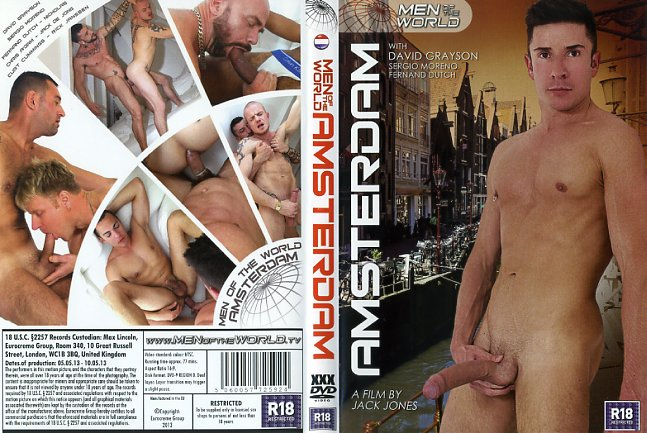 Men of the world amsterdam eurocreme gay porn dvd