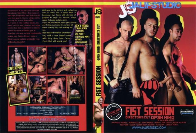 Fist session open mind directors cut jalif studio gay porn dvd