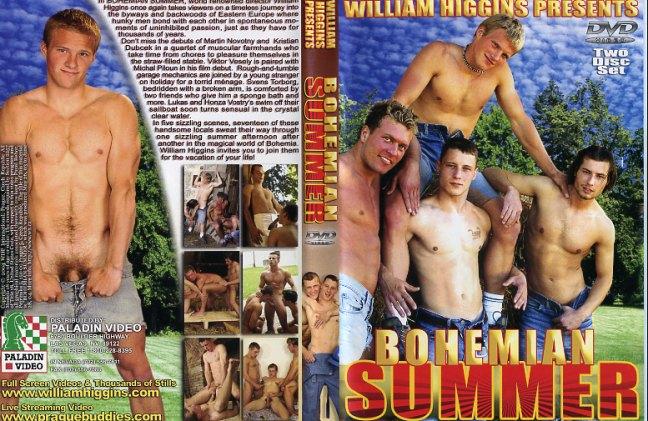 Bohemian summer william higgins productions gay porn dvd