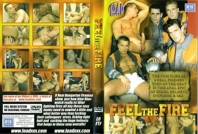 Feel the fire huge video gay porn dvd