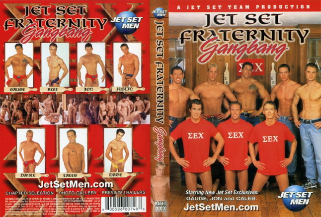 Jet set fraternity gang bang
