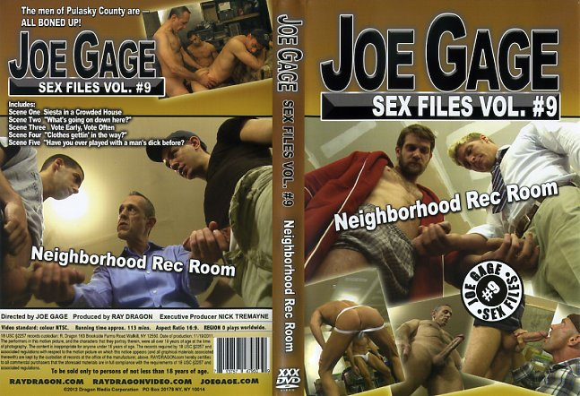 Sex files neighborhood rec room joe gage films gay porn dvd