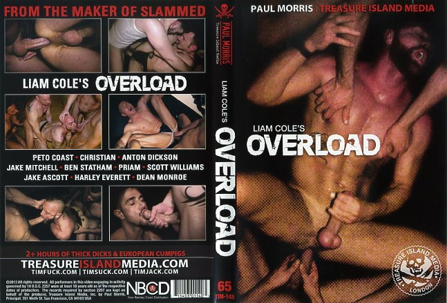 Liam coles overload treasure island media gay porn dvd