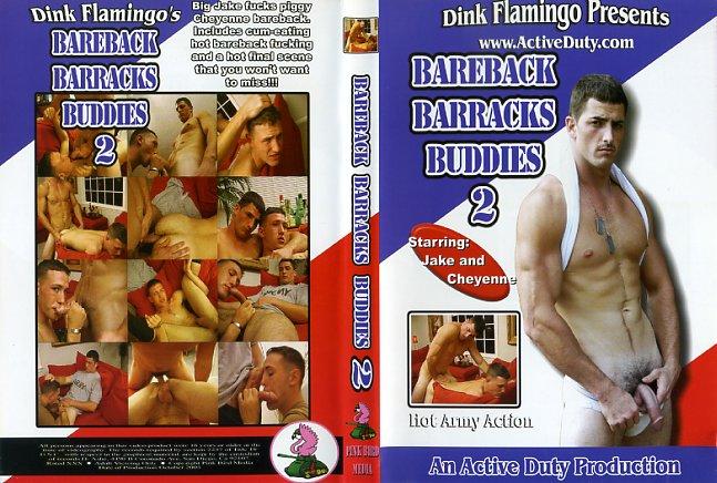 Bareback barracks buddies active duty gay porn dvd