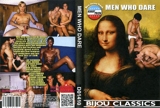 Men who dare bijou video gay porn dvd