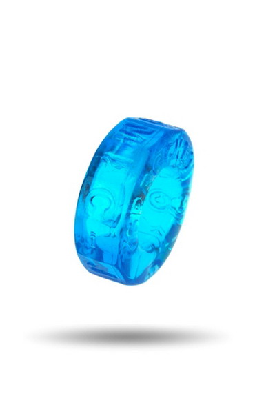 Sprocket Cock Ring: Ice BlueAtomic Jock