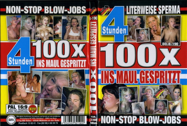 100 x Ins Maul Gespritz (4 Hours)BB Video