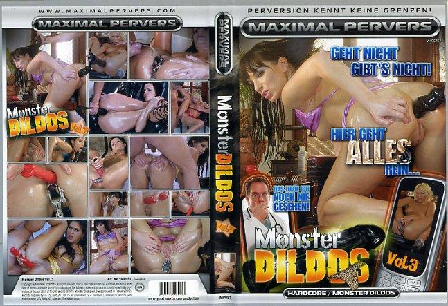 Monster dildo porno dvds