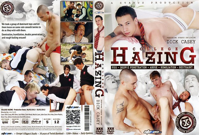 College hazing staxus gay porn dvd
