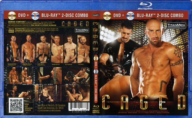 Caged (Dvd + Blu-Ray) Titan Media