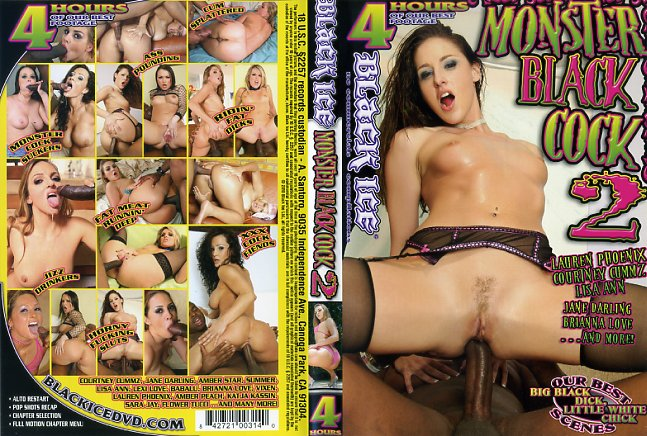 Monster black cock black ice porn dvd