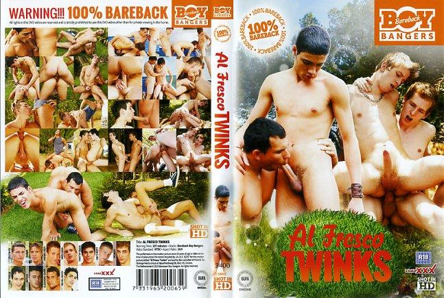 Al Fresco TwinksBareback Boy Bangers