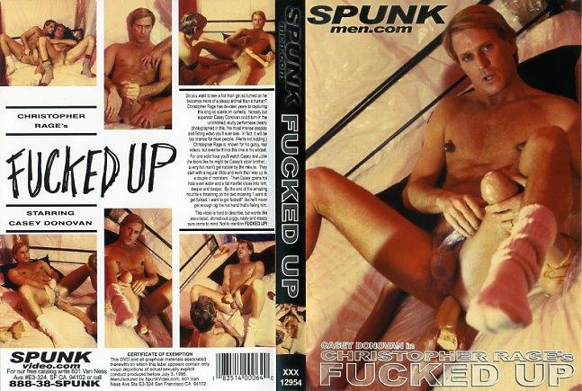 Christopher Rage's Fucked UpSpunk Video
