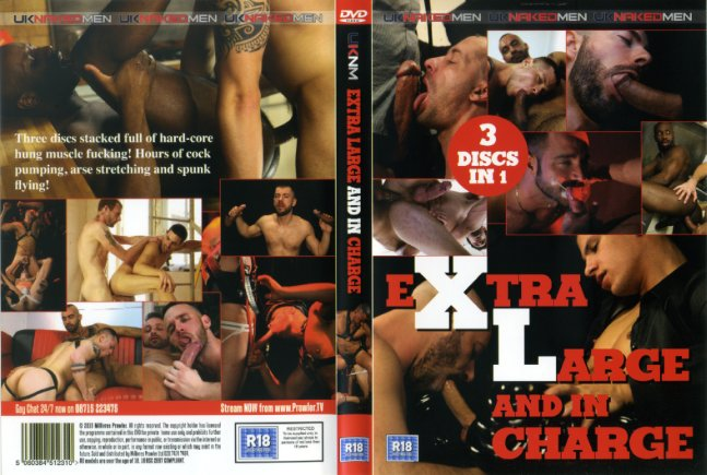 Extra Large And In Charge (3 Dvds)UKNakedMen