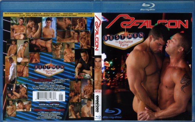 Best Men 1: The Bachelor Party (Blu-Ray)Falcon Studio