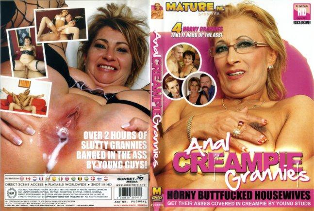 Anal creampie grannies mature porn dvd