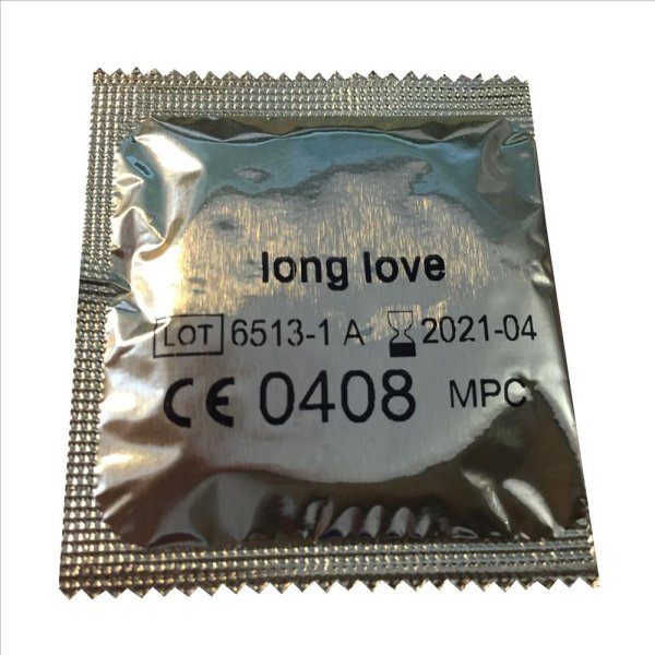 Long Love Ribbed And Dotted Condoms From EXS (30 pack)EXS