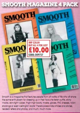 Smooth Magazine 4 Pack Adult Magazines