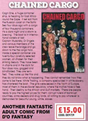 Chained Cargo Adult Magazines
