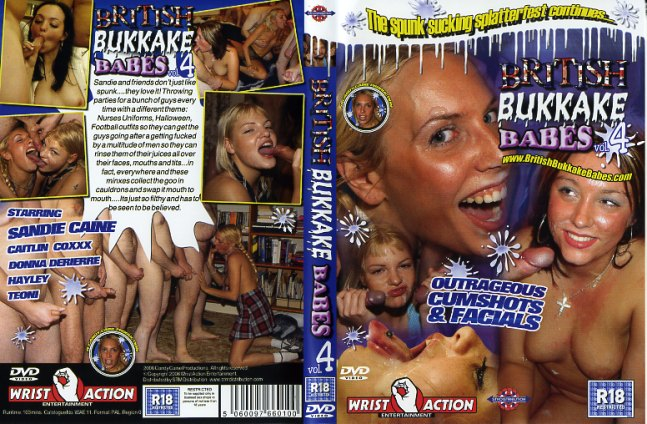 British bukkake dvd