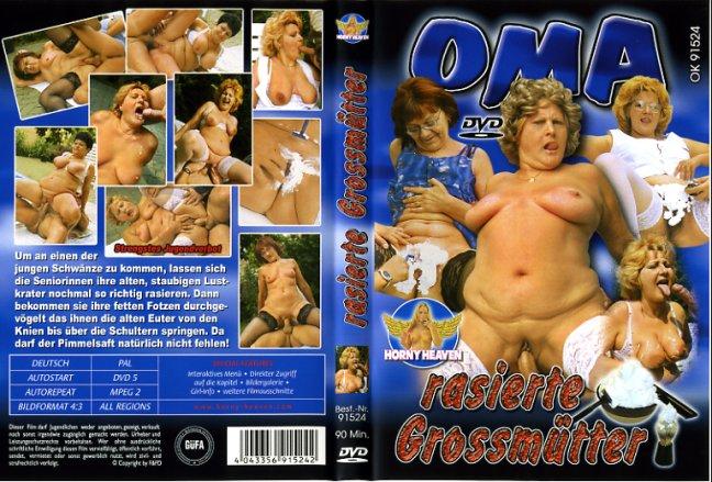 Oma rasierte grossmutter horny heaven porn dvd