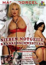 Sieben Notgeil Krankenschwestern