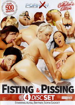 Fisting & Pissing Box (4 Dvds)
