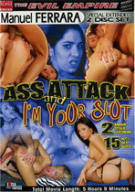 Ass Attack + I'm Your Slut (2 Dvds)