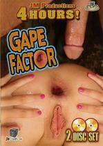 Gape Factor (2 Dvds)