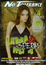 Latina Sperm Fest 4