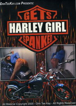Harley Girl Gets Spanked