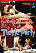 Asian Boy Tickle Party