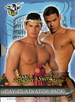 Gay Gladiator Pack (2 Dvds)