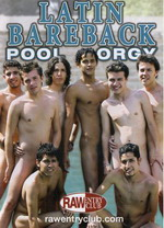 Latin Bareback Pool Orgy 1