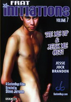 Frat Initiations 07: Tie Me Up & Jerk Me Off