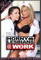 Horny Lesbians At Work 2