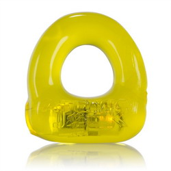 Lumo LED Stretch Cock Ring: Yellow