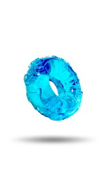 Jelly Bean Cock Ring: Ice Blue