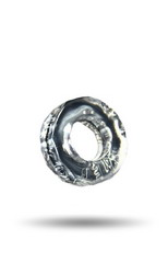 Sprocket Cock Ring: Clear