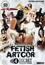 Fetish Artcore Set 1 (4 Dvds)