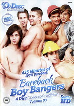 Bareback Boy Bangers Collector's Edition 3 (4 Dvds)