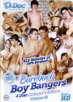 Bareback Boy Bangers Collector's Edition 5 (4 Dvds)