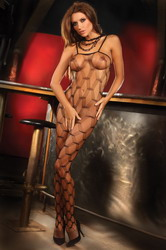 Ednah Bodystocking (Small To Large)